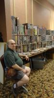 Harry holding down the booth at Williamsburg Muster 2012